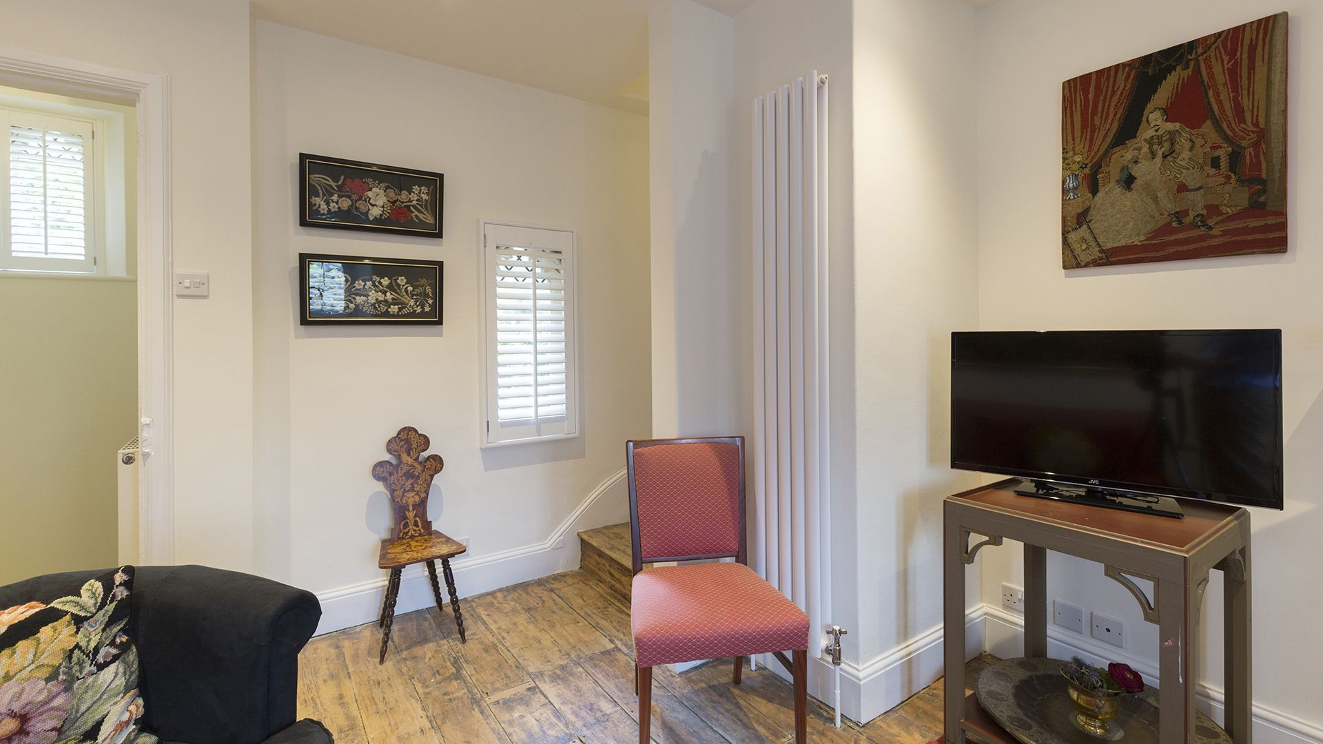 Living room, Castle Gatehouse at Sudeley Castle, Bolthole Retreats