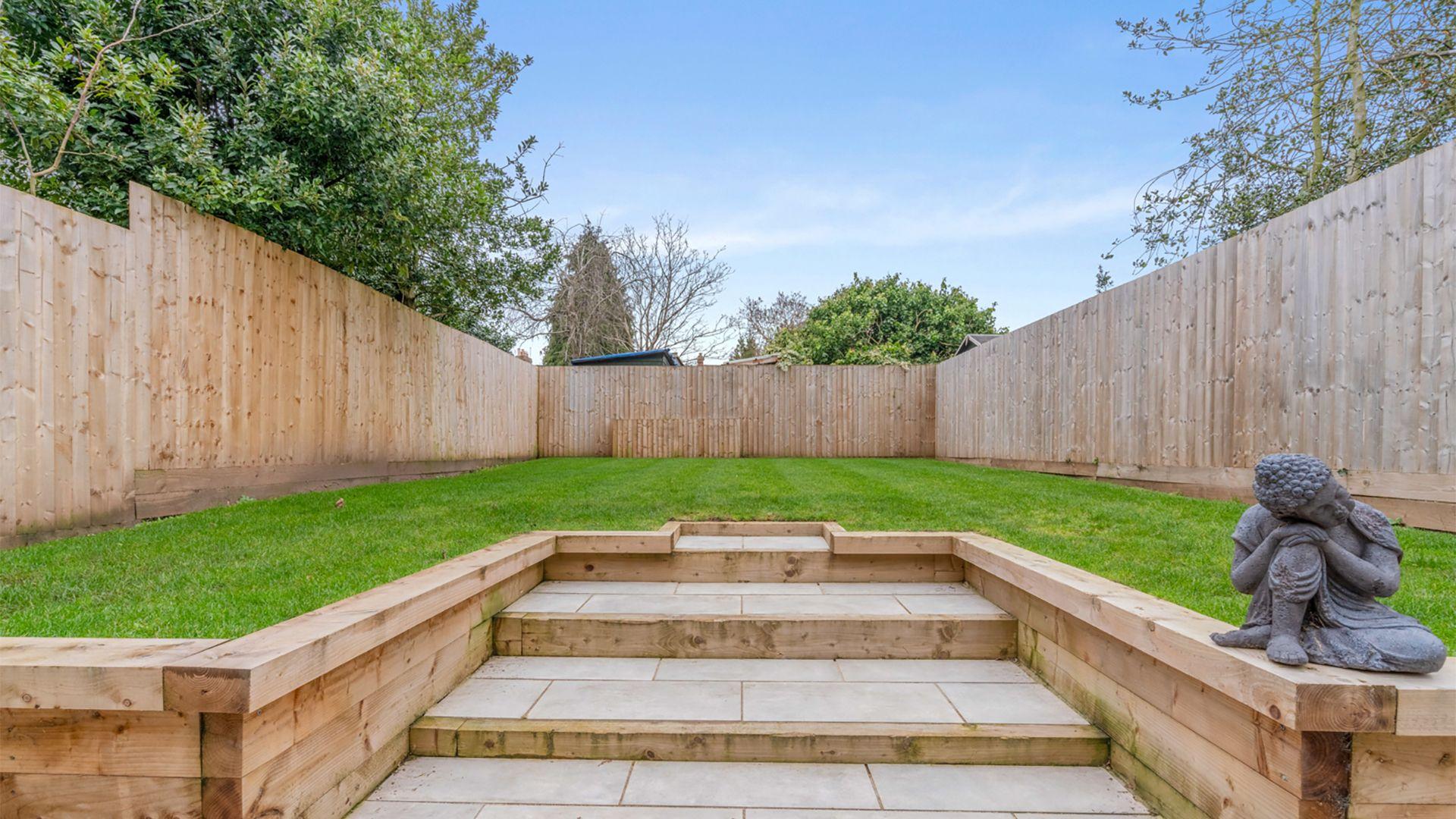 Rear garden, 33 Percy Street, Bolthole Retreats