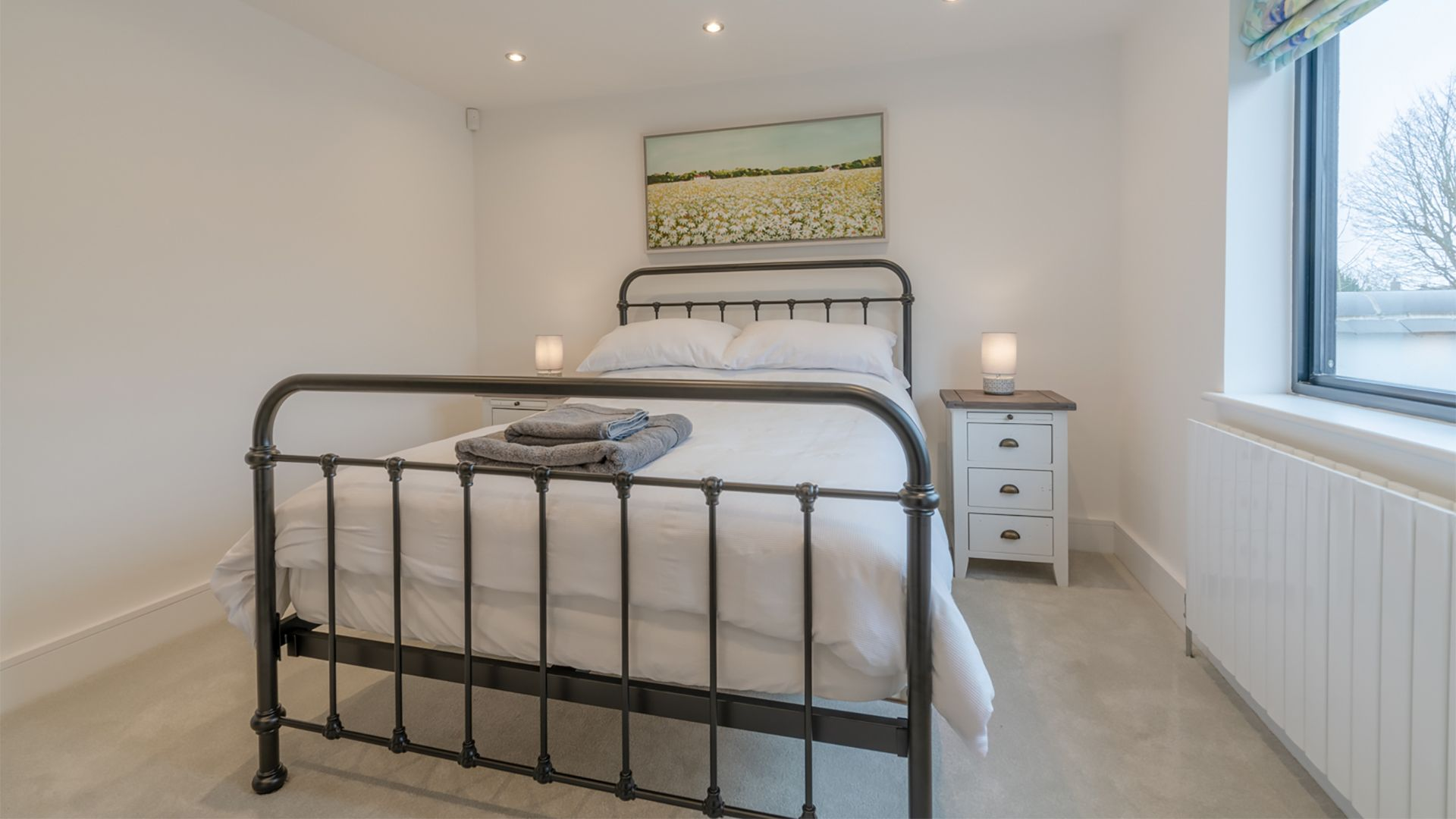 First floor double bedroom, 33 Percy Street, Bolthole Retreats