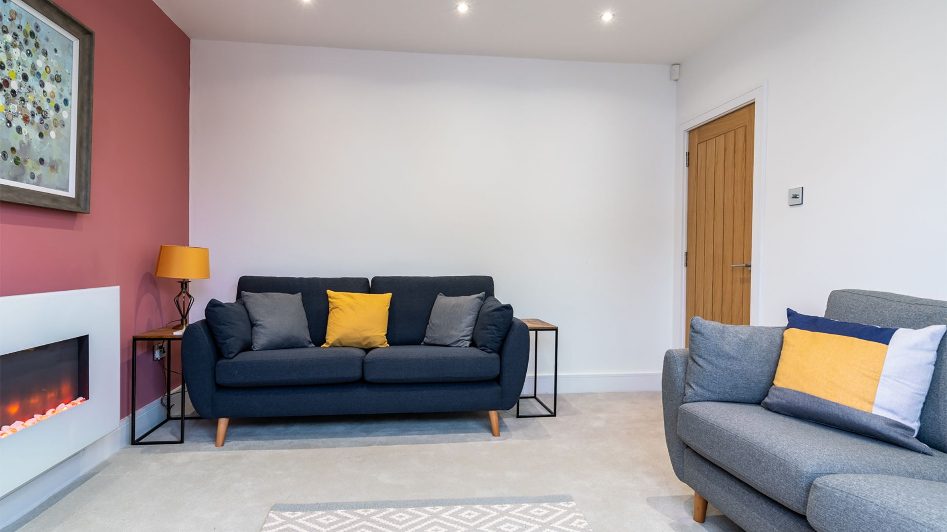 Living room, 33 Percy Street, Bolthole Retreats