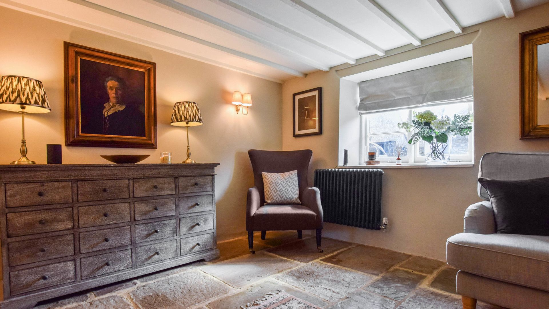 Living room, Lovell Cottage, Bolthole Retreats