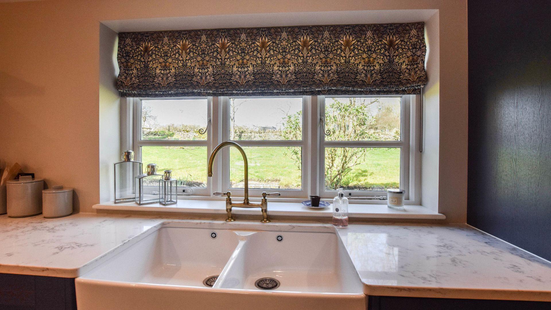 Kitchen window, Lovell Cottage, Bolthole Retreats