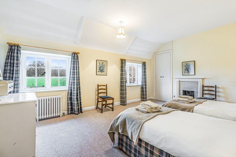 Little Barwick   Twin bedroom - tartan room