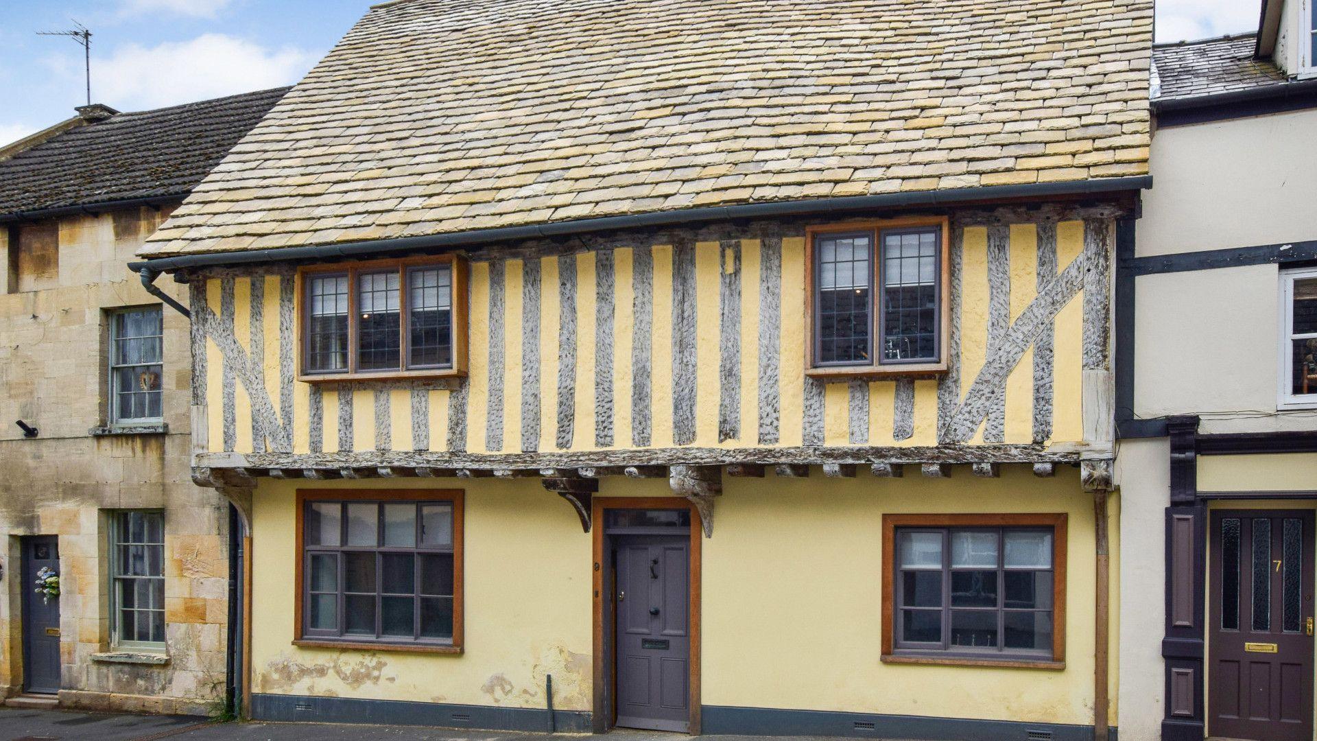 Front exterior, Mercia House, Bolthole Retreats