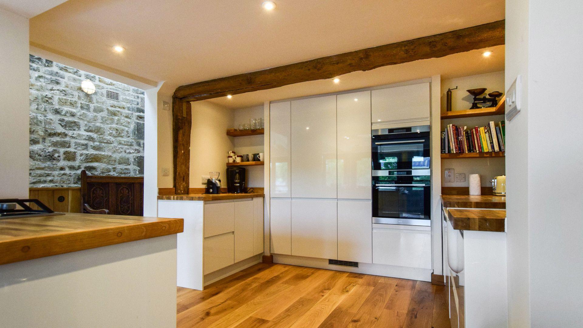 Kitchen, Mercia House, Bolthole Retreats