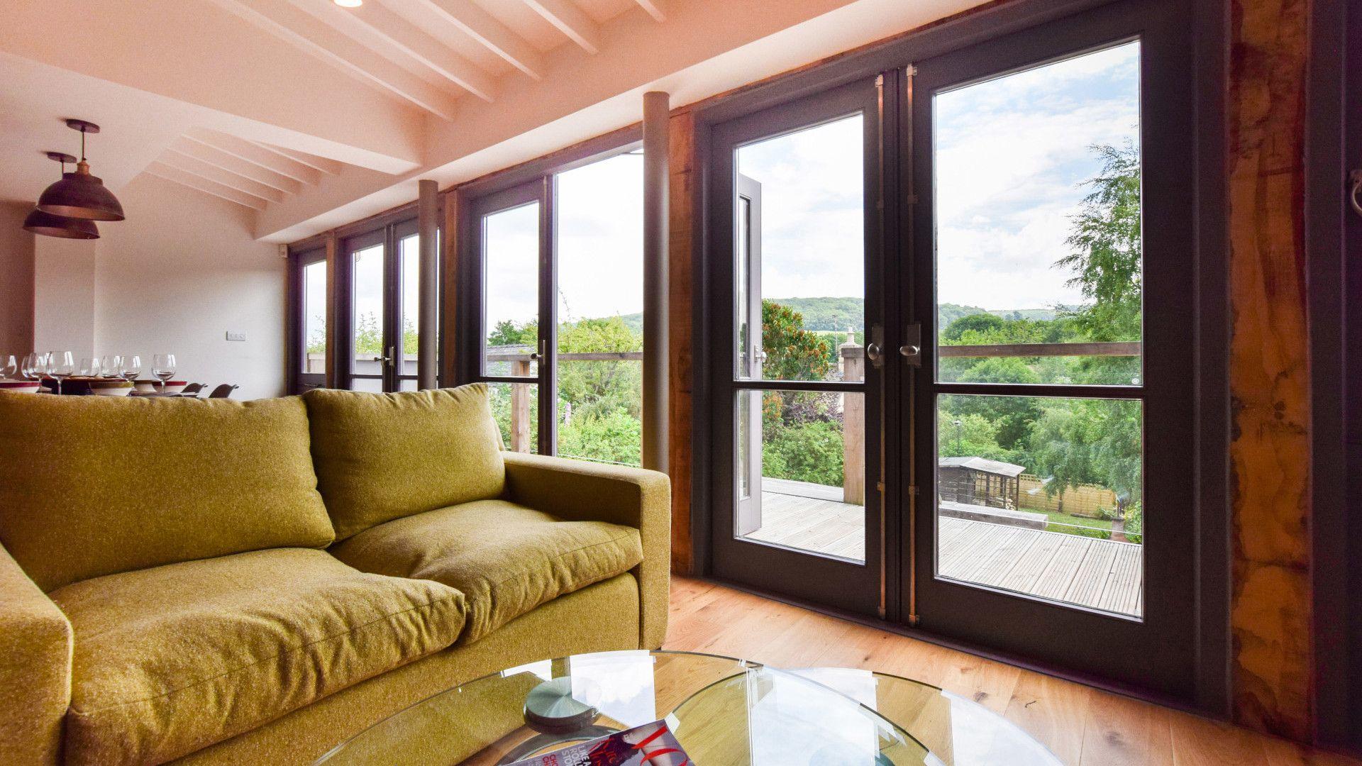 Living area, Mercia House, Bolthole Retreats