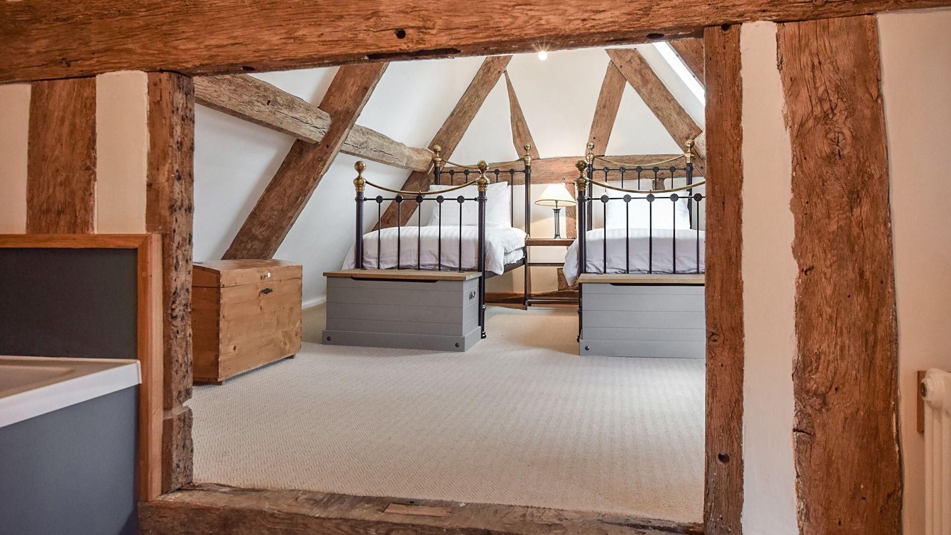 Bedroom 4 bathroom, Mercia House, Bolthole Retreats