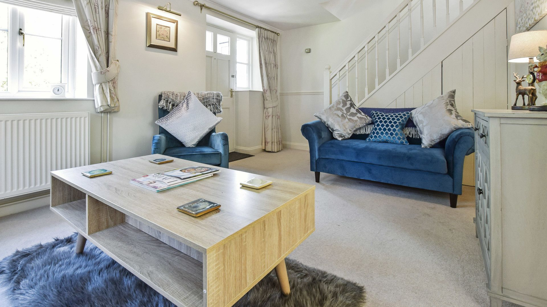 Living room, Old Stables, Bolthole Retreats