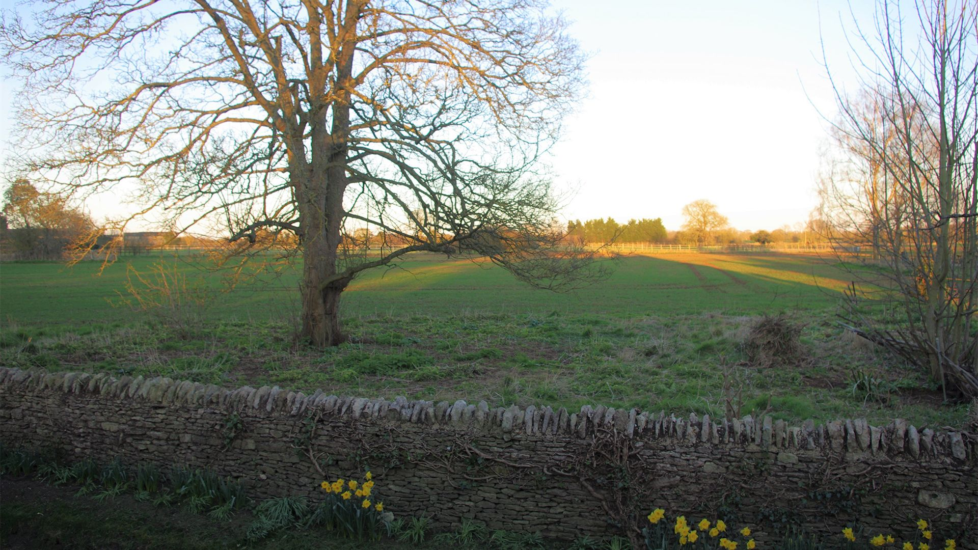 A view of Kencot from Maisey Cottage, Bolthole Retreats