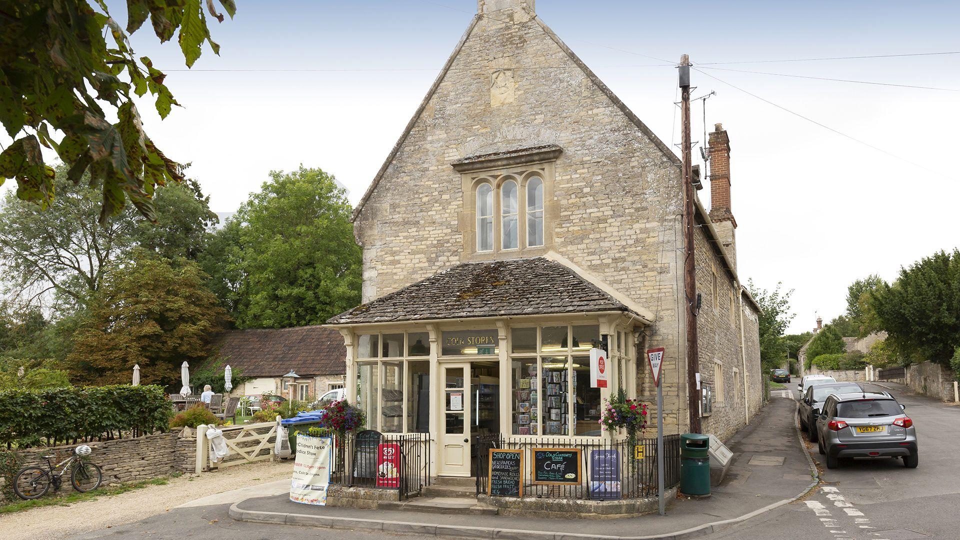 Coln village shop, Meadow View 2, Bolthole Retreats