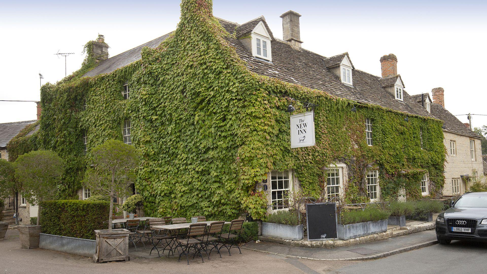 Nearby pub, The New Inn, Coln St Aldwyns,  Meadow View 2, Bolthole Retreats
