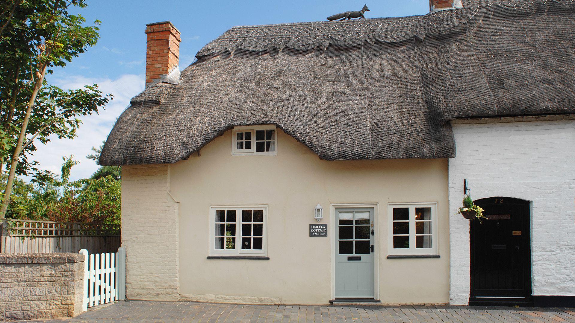 Front external, Old Fox Cottage, Bolthole Retreats