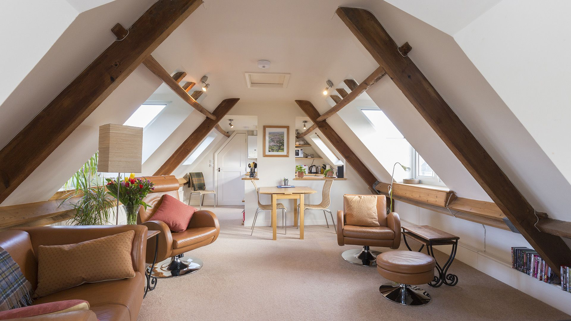 Living, dining, kitchen area, The Leat at Wynard Mill, Bolthole Retreats