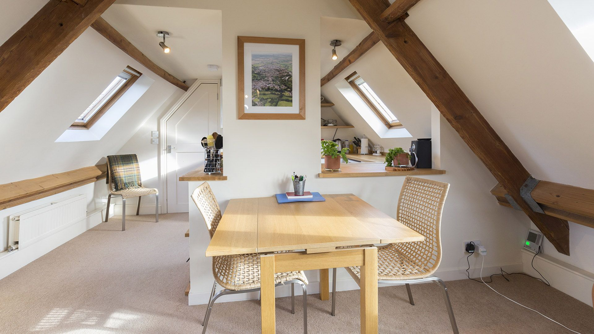 Dining area, The Leat at Wynard Mill, Bolthole Retreats