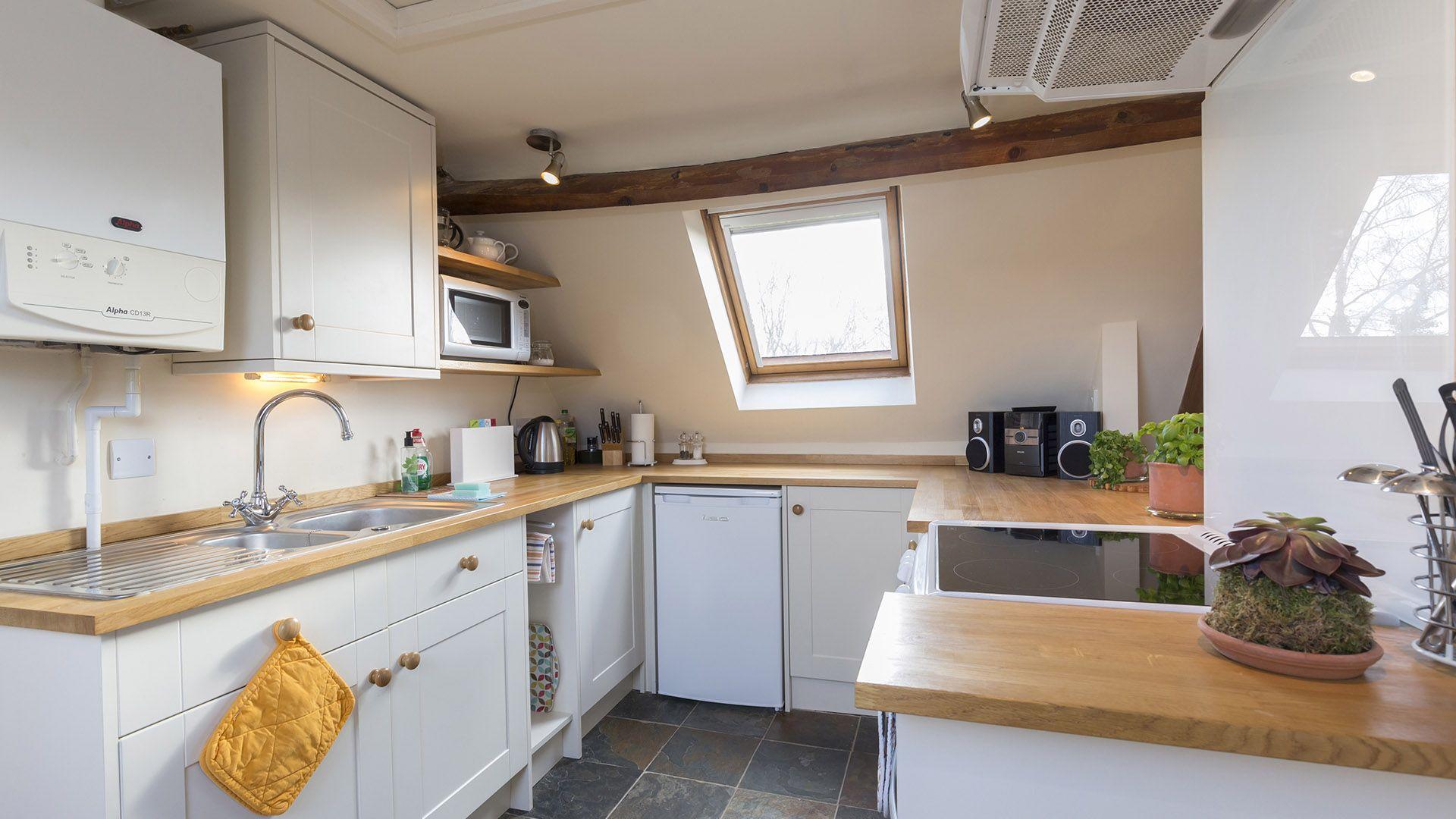 Kitchen, The Leat at Wynard Mill, Bolthole Retreats
