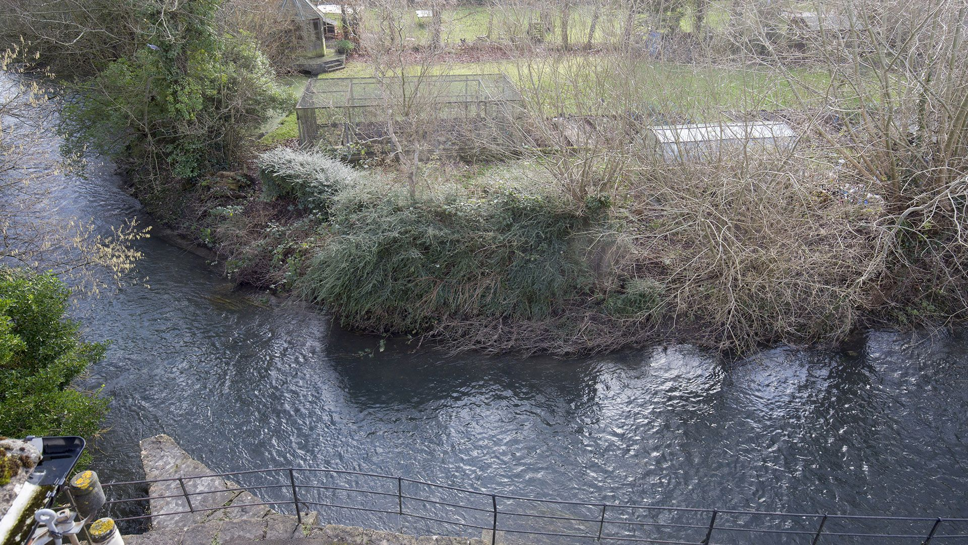 The River Avon, The Leat at Wynard Mill, Bolthole Retreats