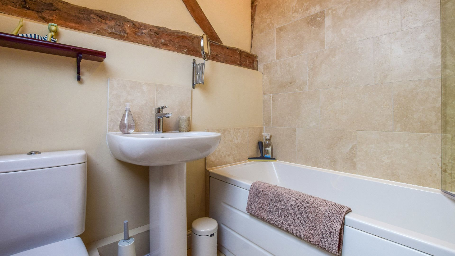 Family bathroom, Owl's End, Bolthole Retreats