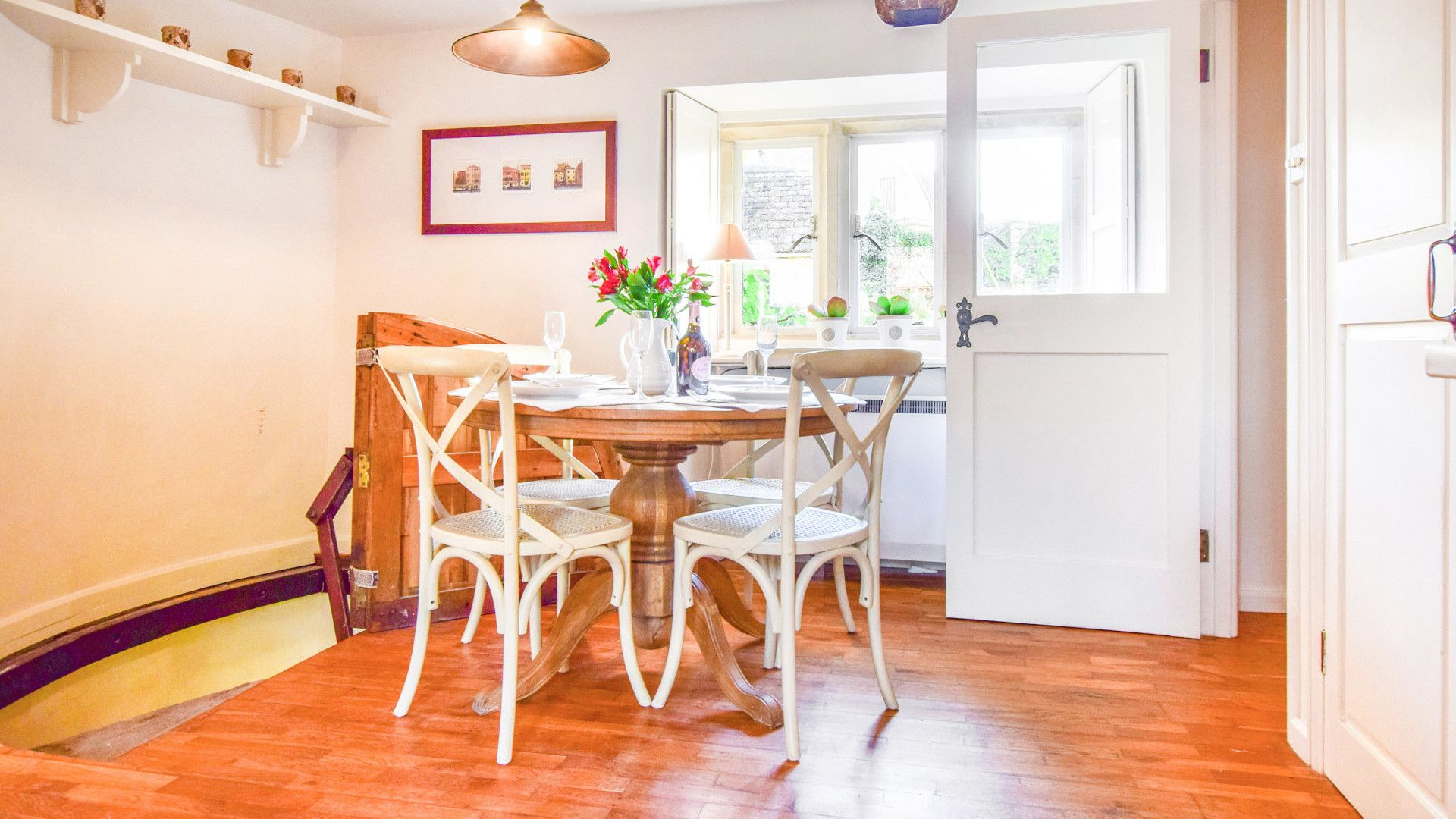 Dining area, Spinners Cottage,  Bolthole Retreats