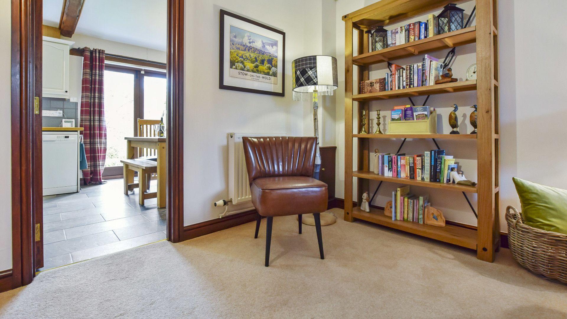 Living room, Stepping Stones, Bolthole Retreats