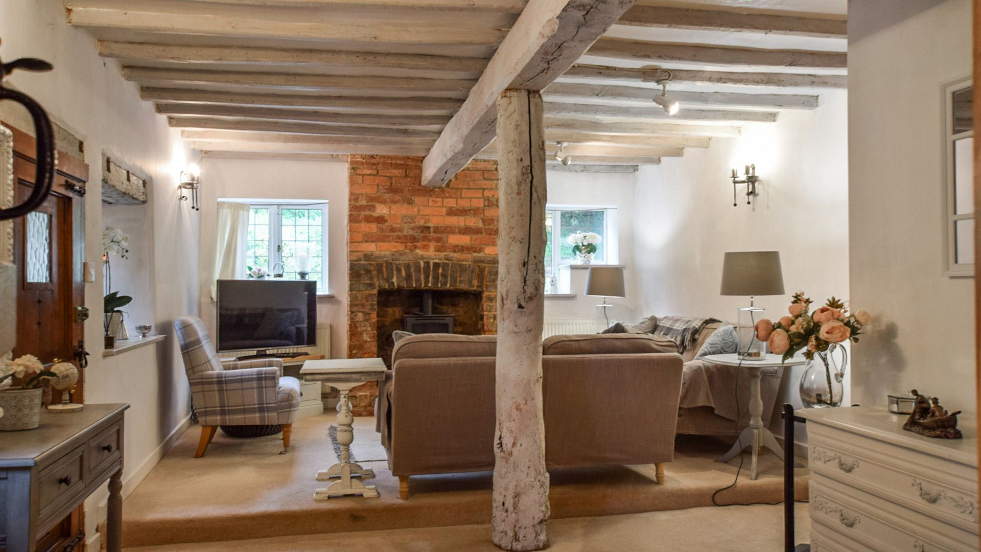Living room, Suncroft, Bolthole Retreats