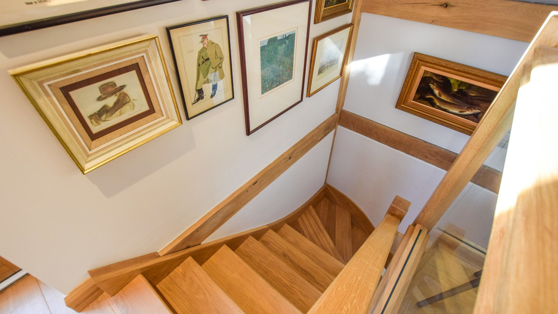 Staircase, Sycamore, Bolthole Retreats