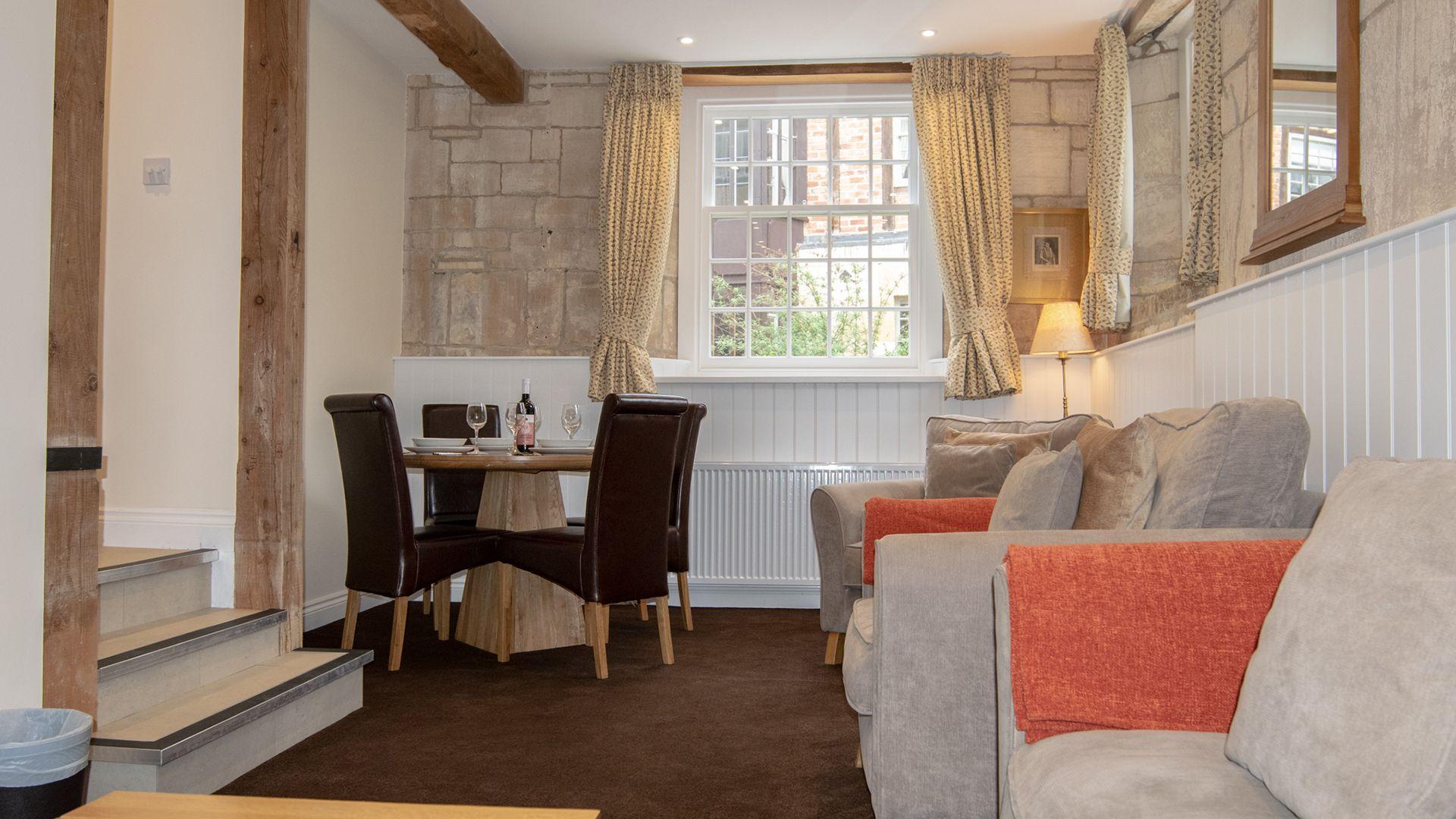 Living room, Princess Elizabeth at Sudeley Castle, Bolthole Retreats