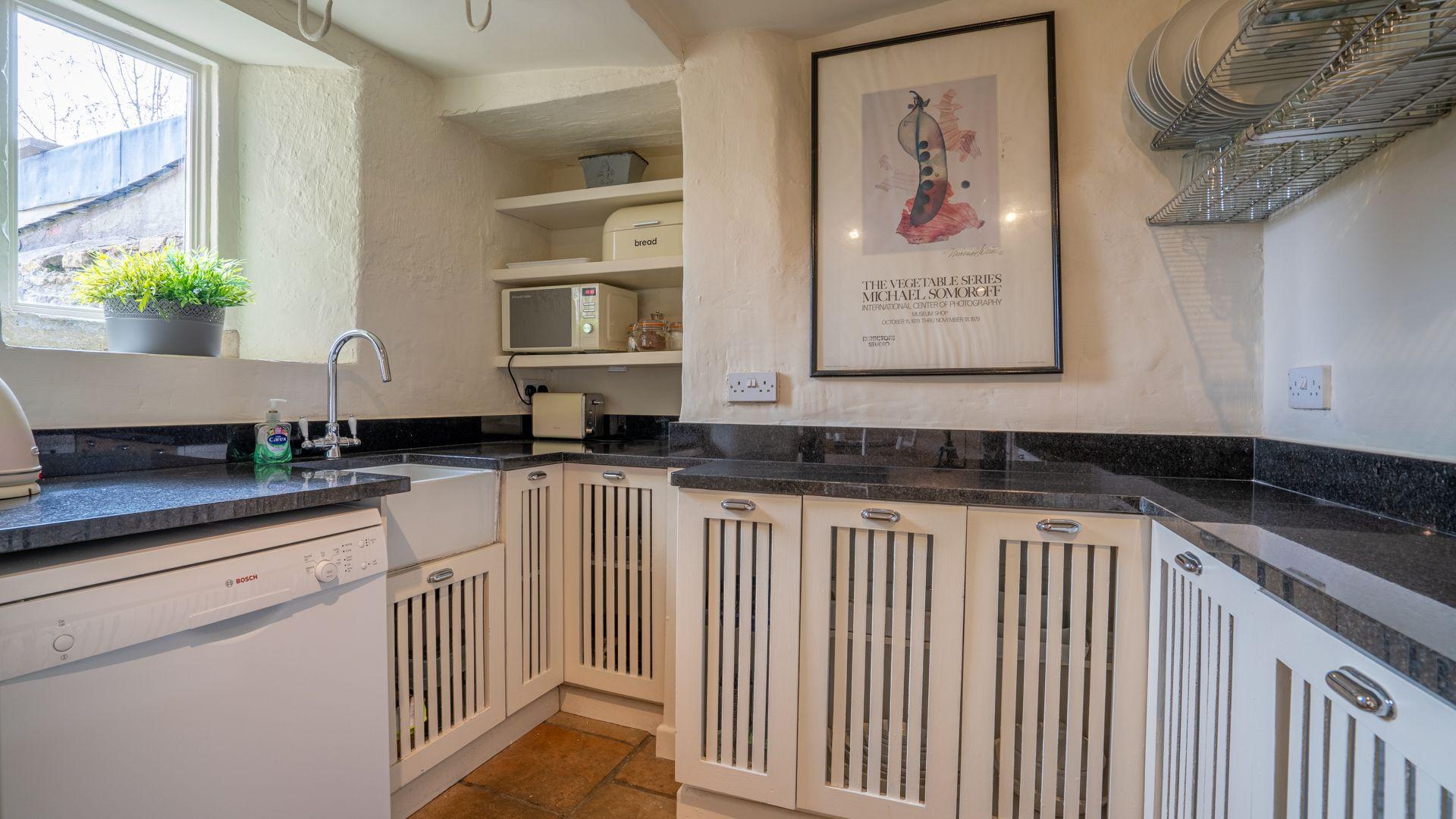 Kitchen,  Candlemaker's Cottage, Bolthole Retreats