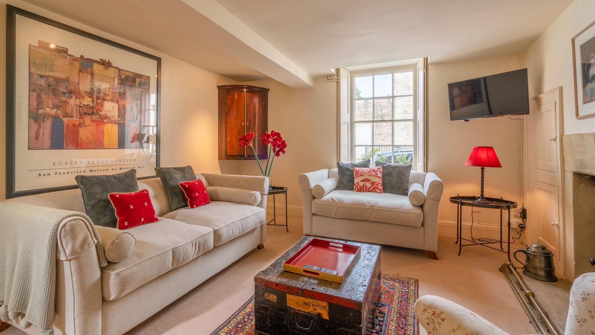 Living room, Candlemaker's Cottage, Bolthole Retreats