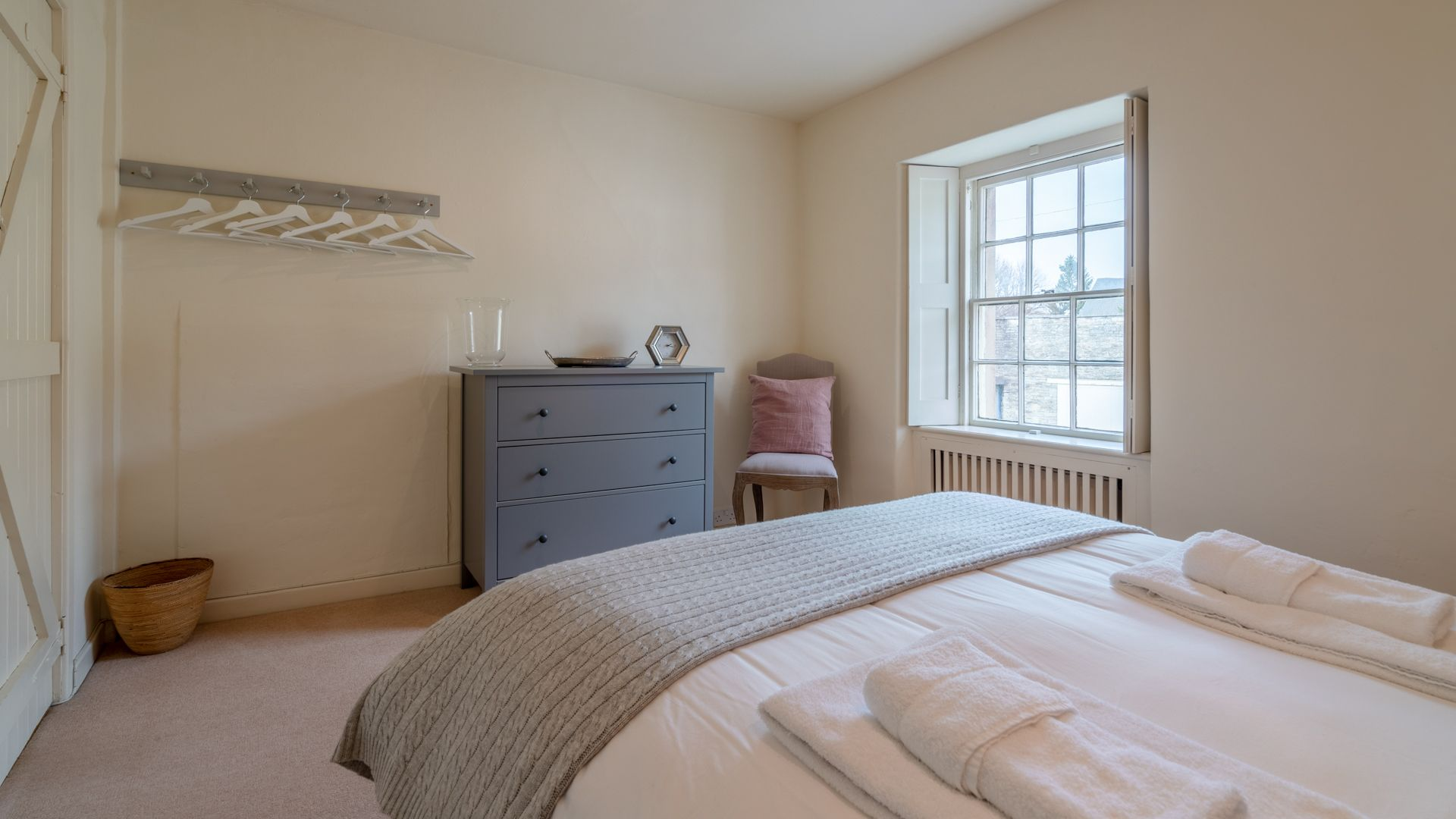 Bedroom 3, double,  Candlemaker's Cottage, Bolthole Retreats