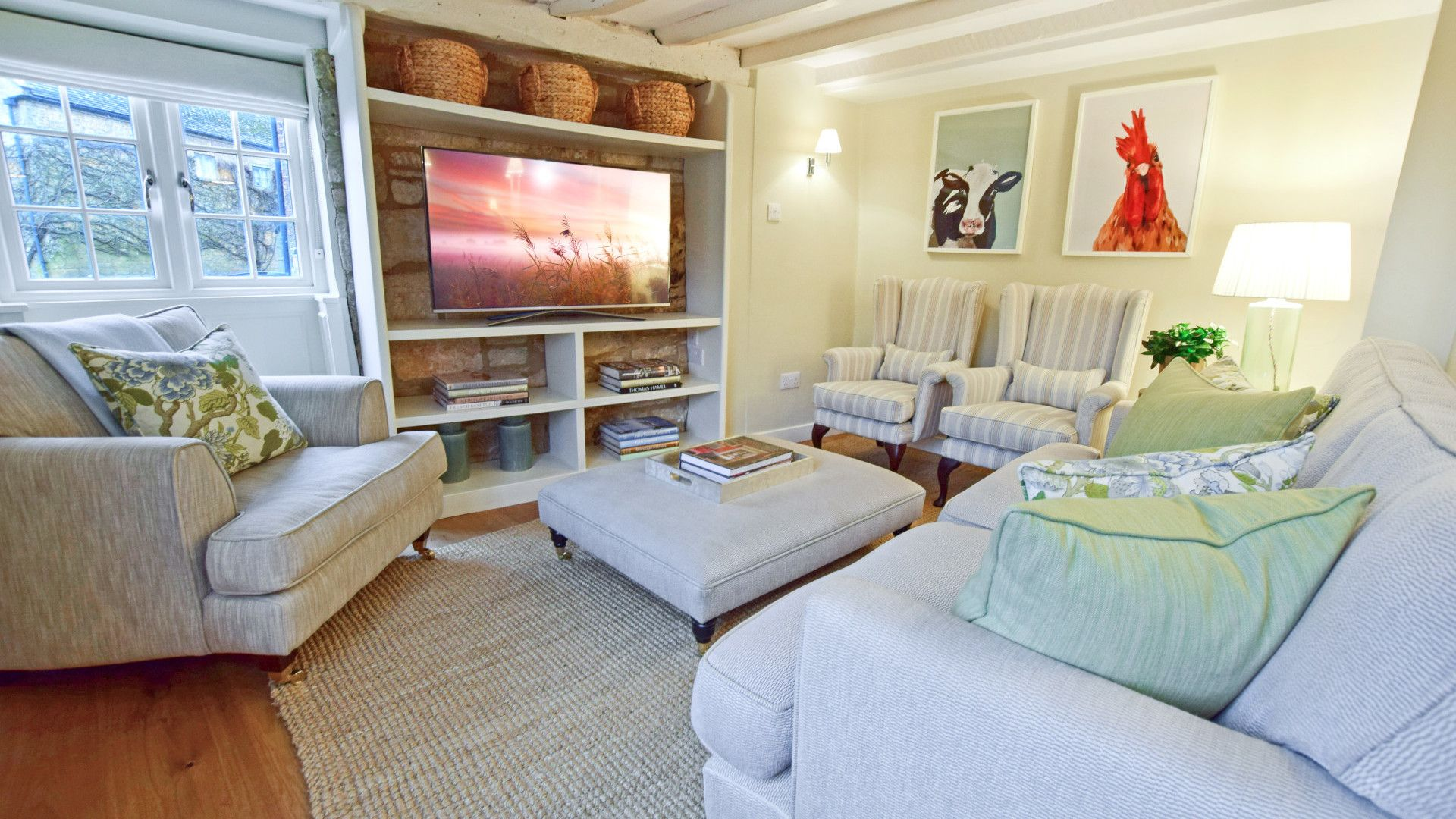 Living room, Thatch Cottage, Bolthole Retreats