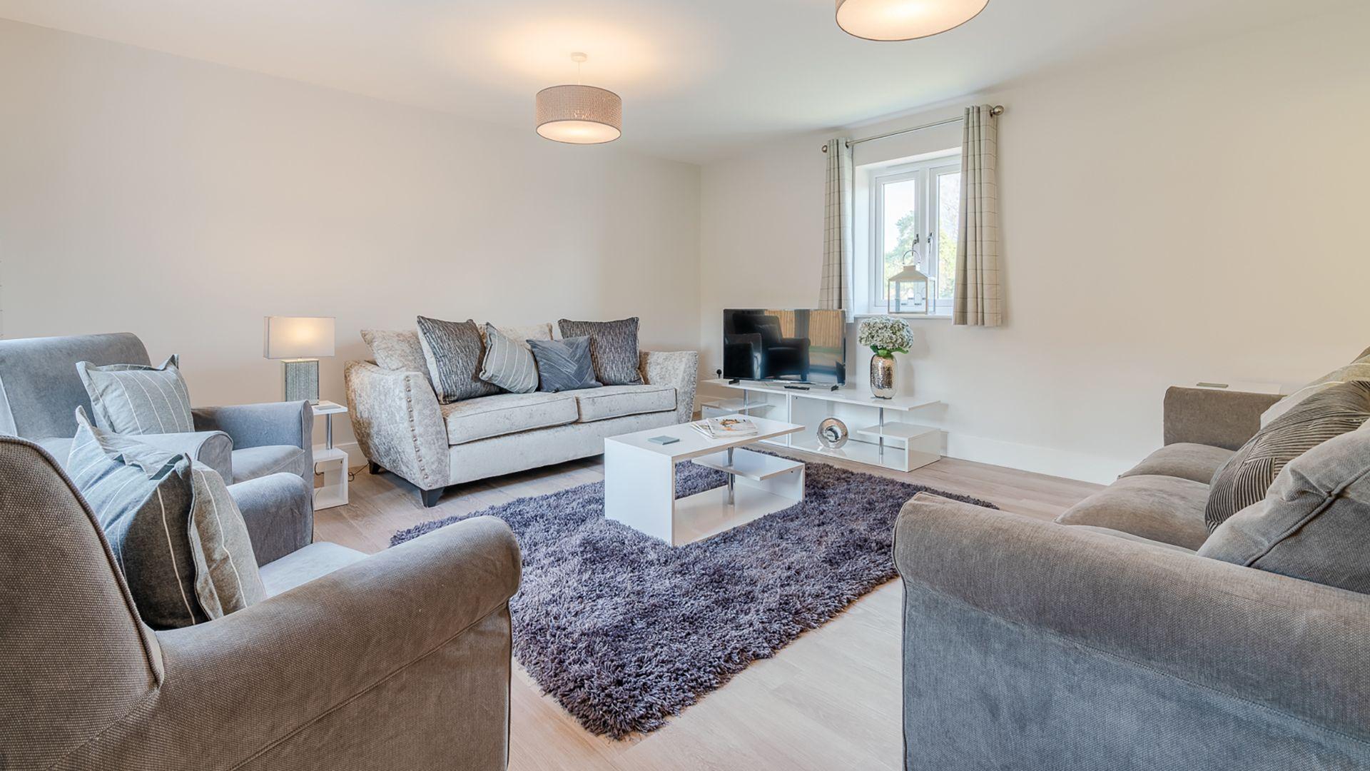 Living room, Rowan House, Bolthole Retreats