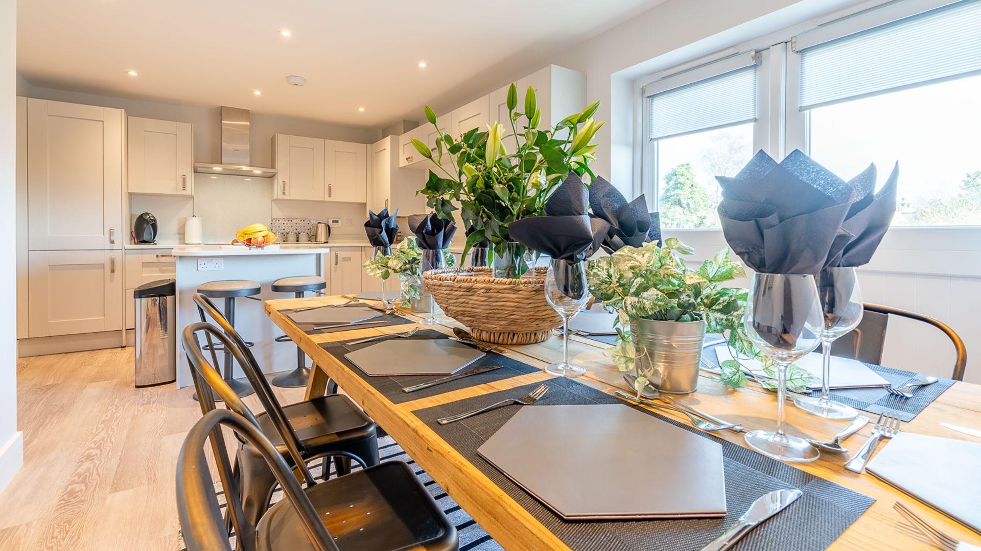 Dining area, Rowan House, Bolthole Retreats