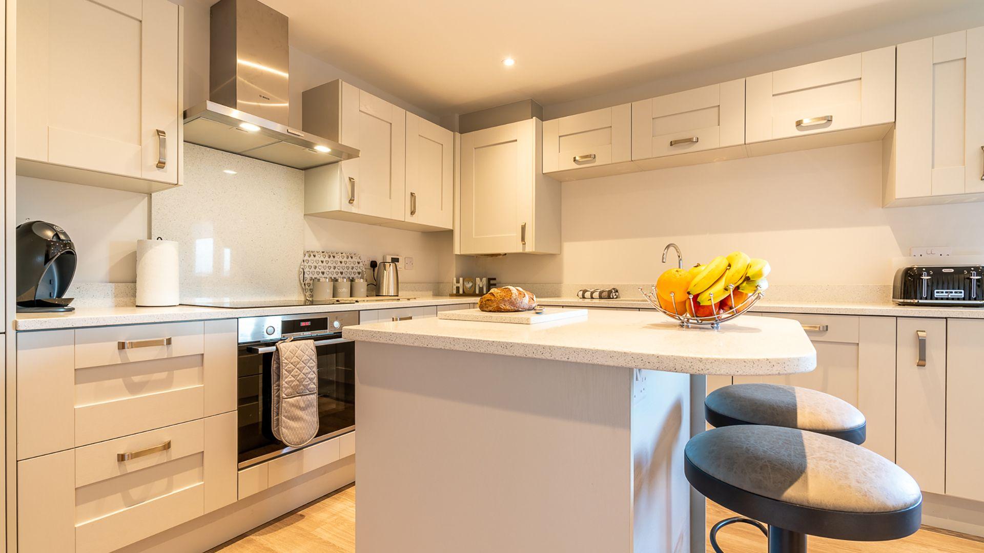 Kitchen, Rowan House, Bolthole Retreats