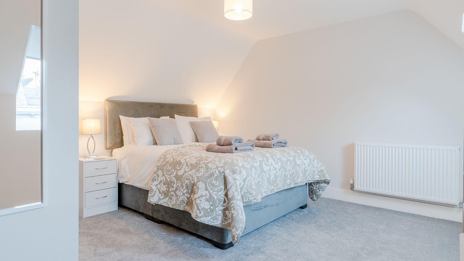 Bedroom 4, Rowan House, Bolthole Retreats