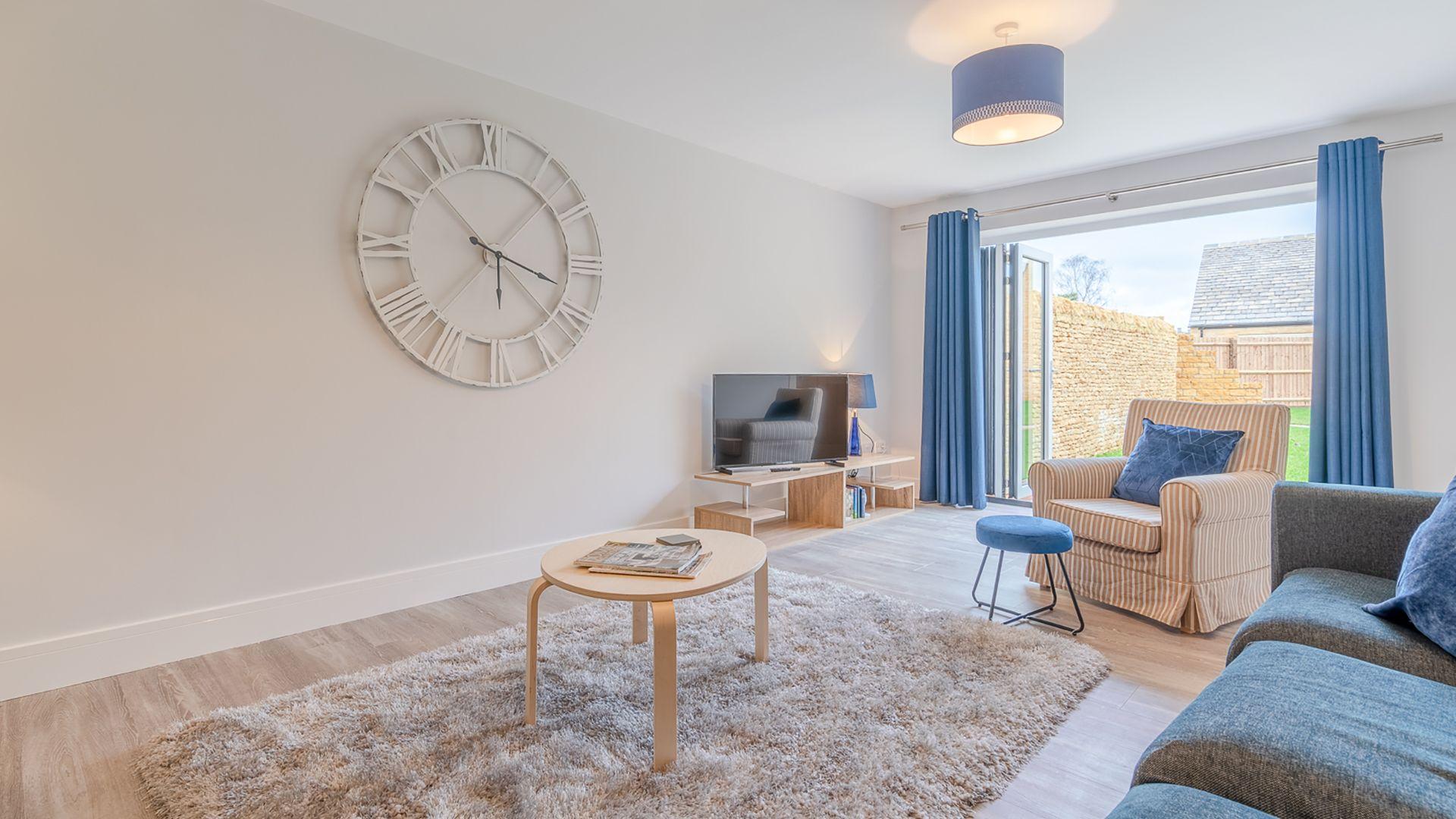 Living room, Poplar House, Bolthole Retreats
