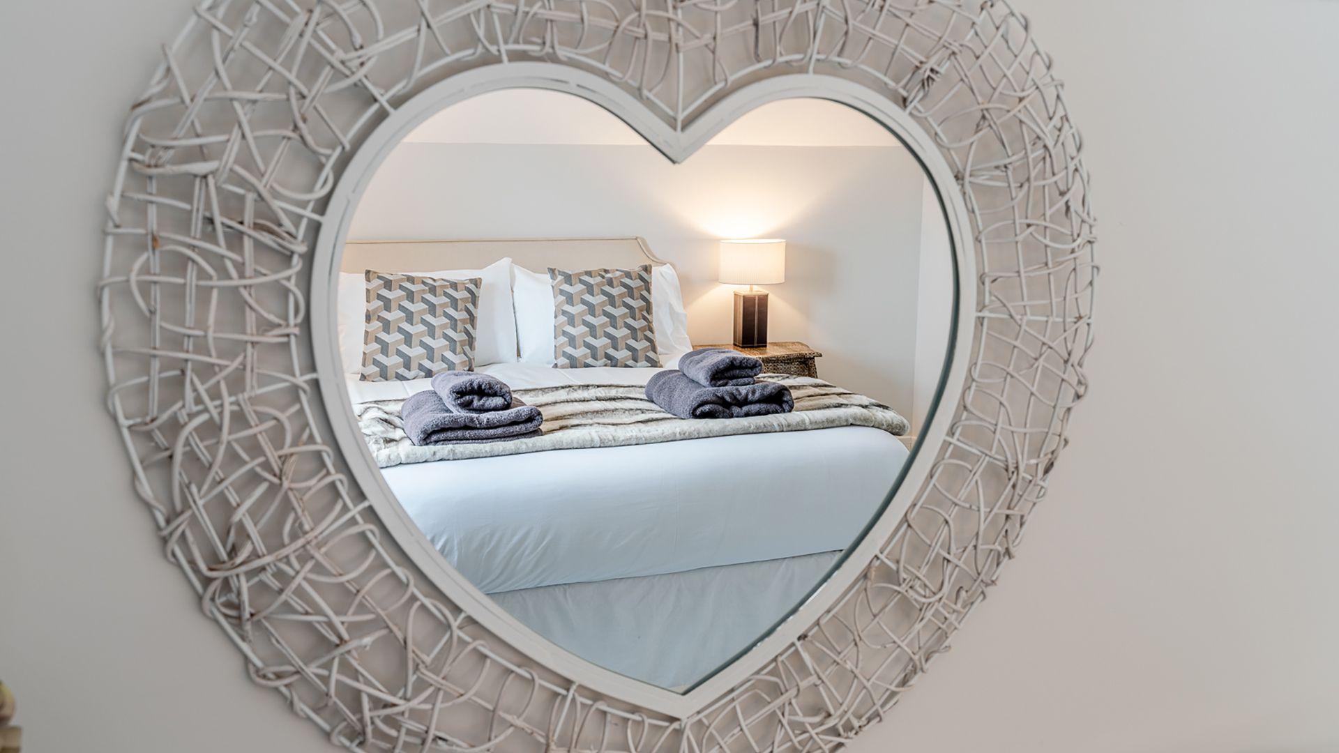 Bedroom 4, Poplar House, Bolthole Retreats