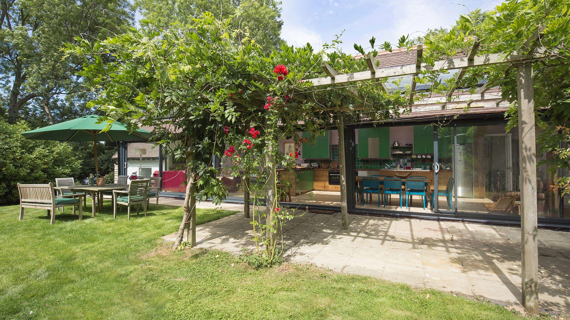 Rear Garden, Brock Cottage, Bolthole Retreats