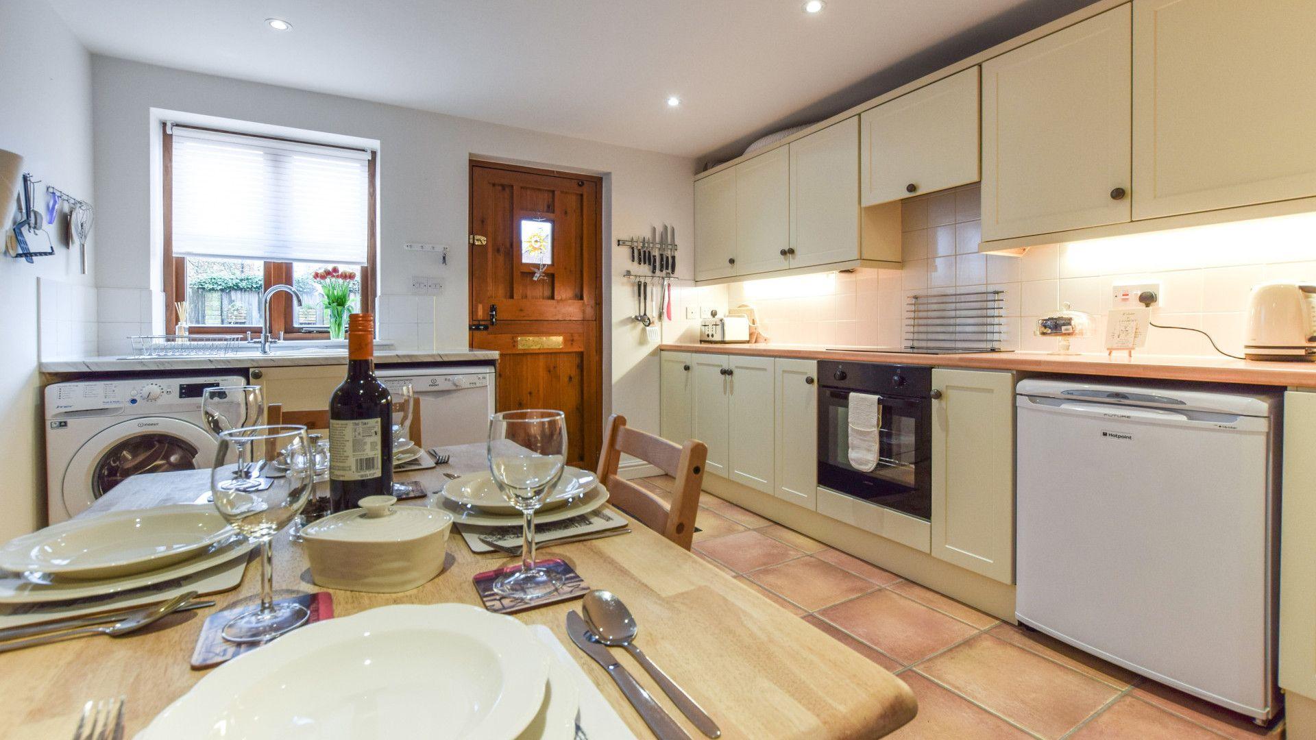 Kitchen, The Barn, Bolthole Retreats