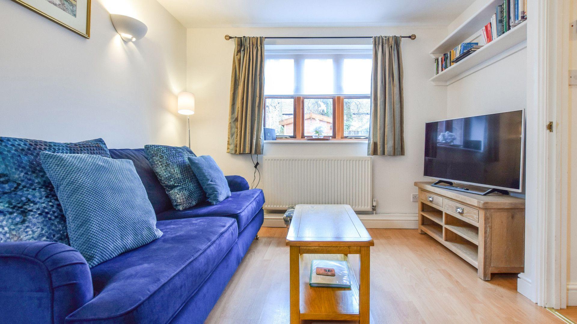 Living room, The Barn, Bolthole Retreats