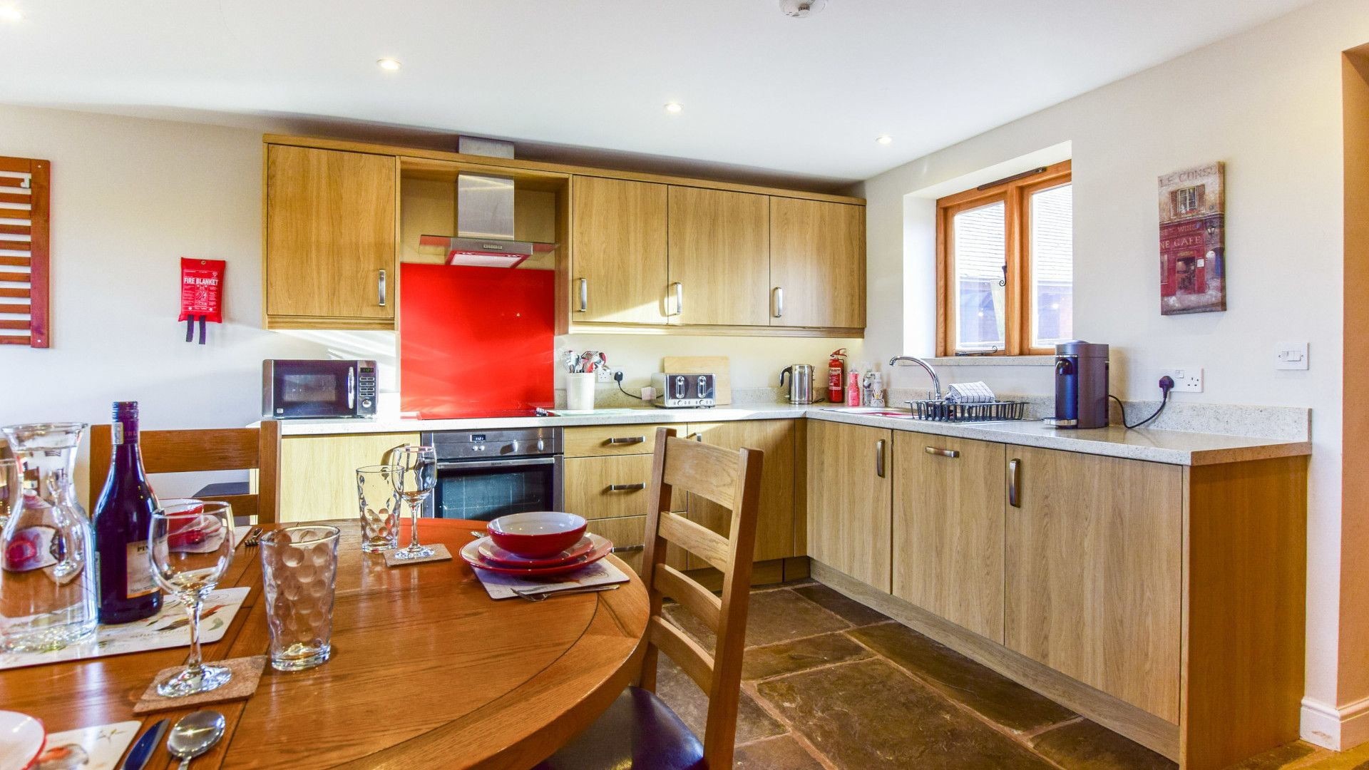 Kitchen,  Granary, Bolthole Retreats