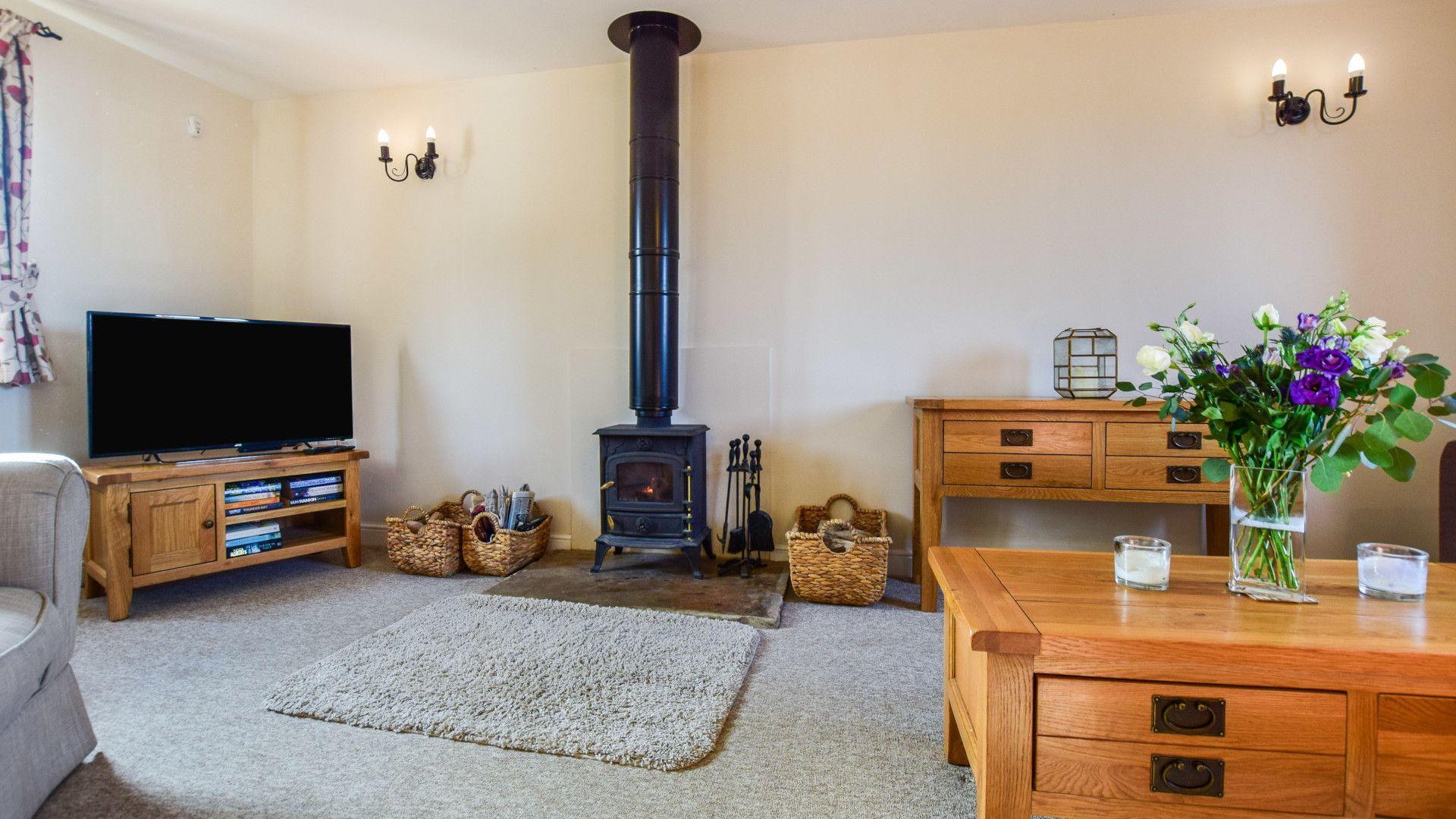 Living room,  Granary, Bolthole Retreats