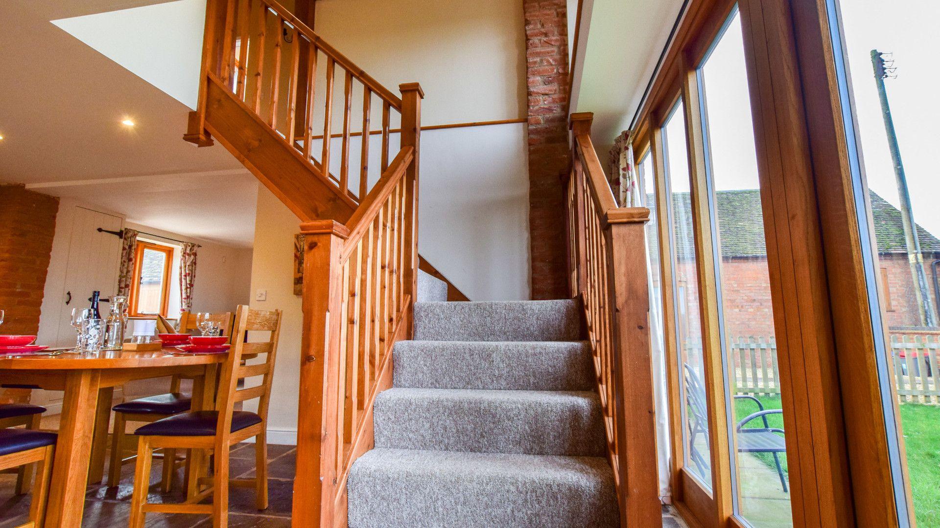 Staircase,  Granary, Bolthole Retreats