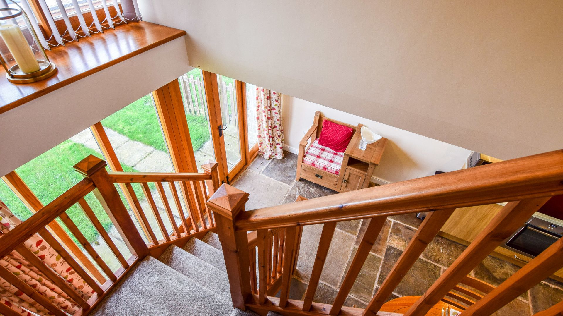 Stairs & entrance,  Granary, Bolthole Retreats