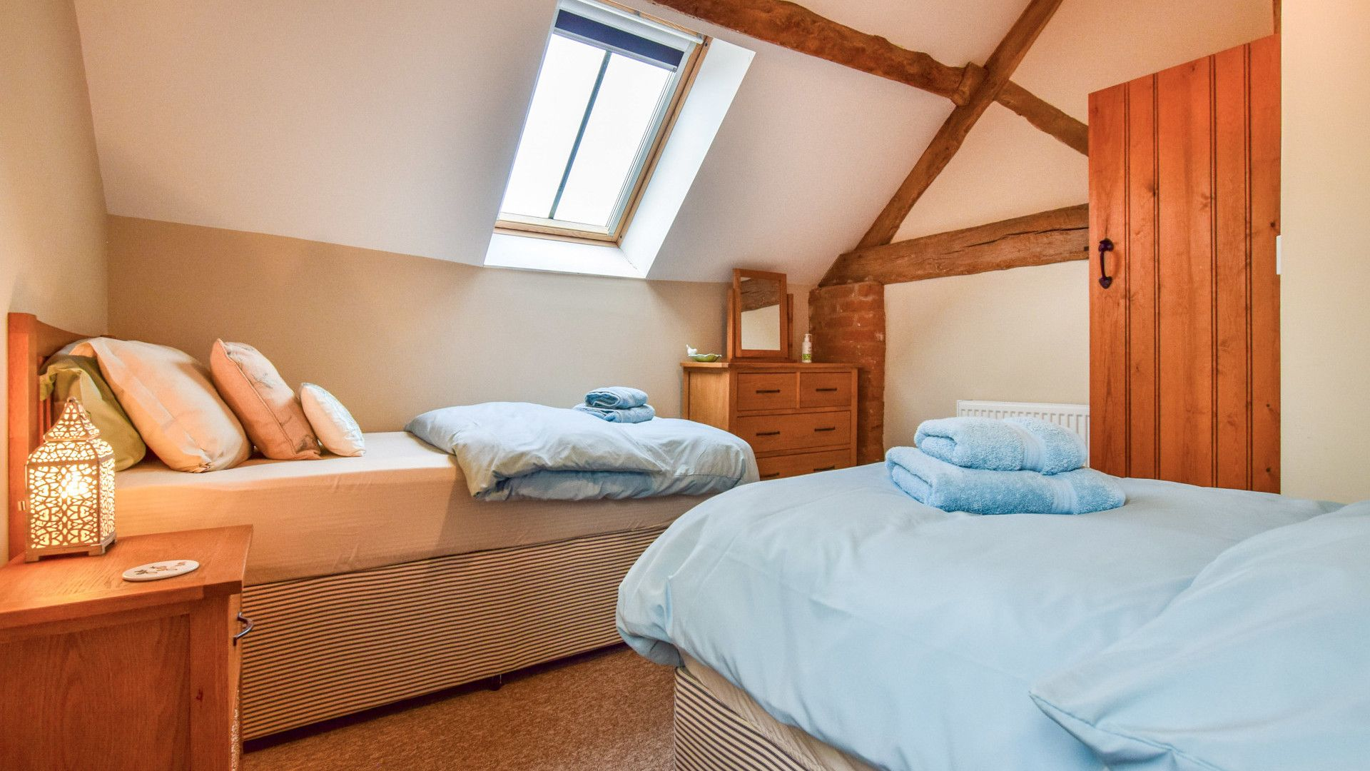 Bedroom 2  Granary, Bolthole Retreats