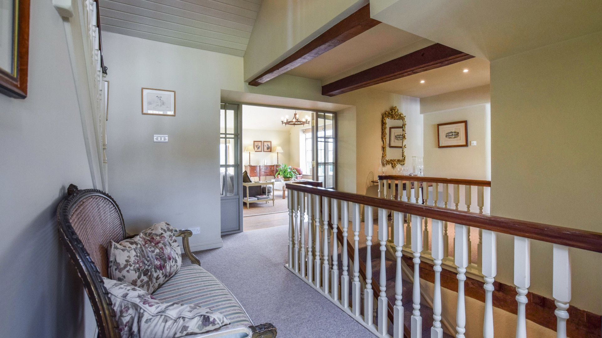 Ground floor hallway, Grindstone Mill, Bolthole Retreats