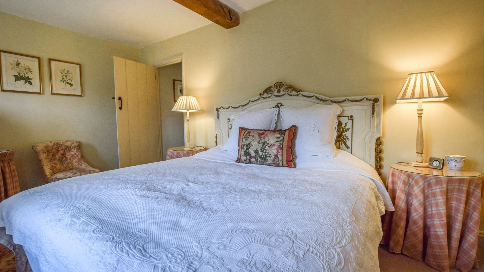 Bedroom Four, Grindstone Mill, Bolthole Retreats