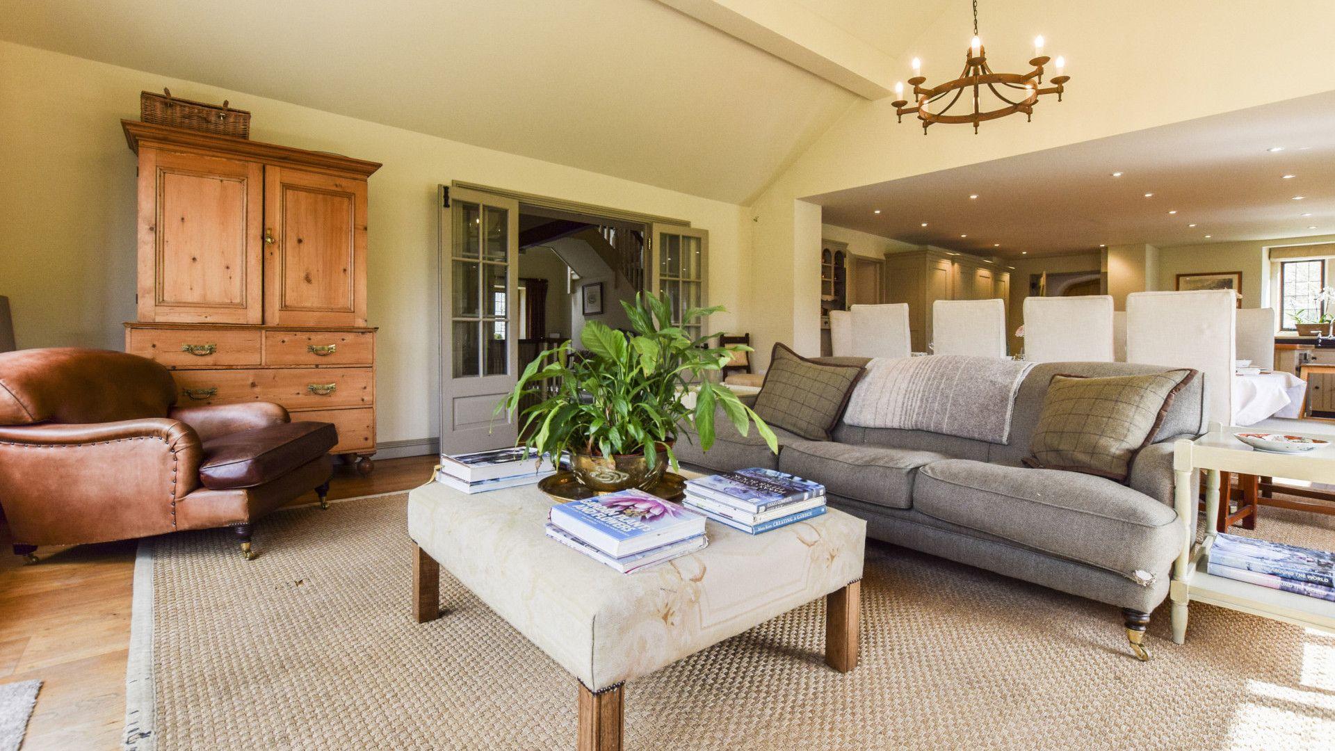 Living Area, Grindstone Mill, Bolthole Retreats