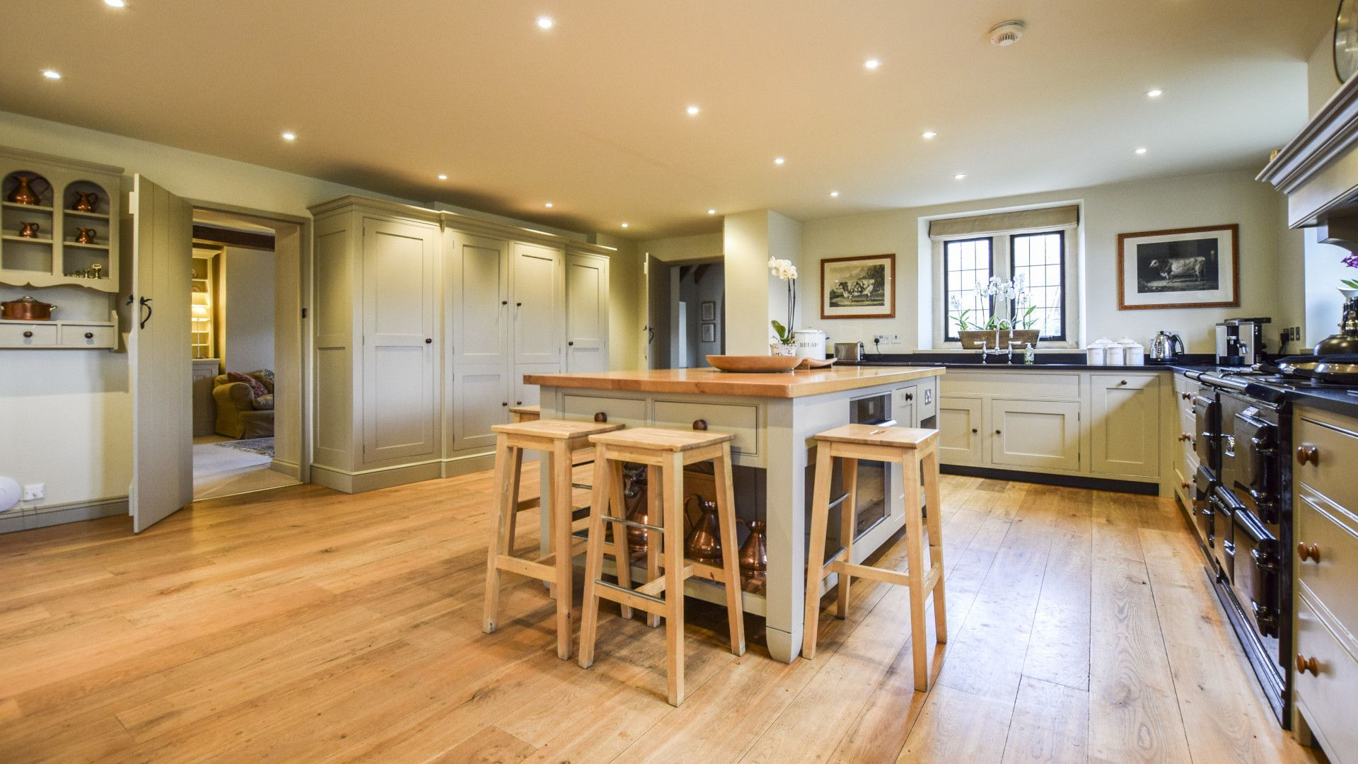 Kitchen, Grindstone Mill, Bolthole Retreats