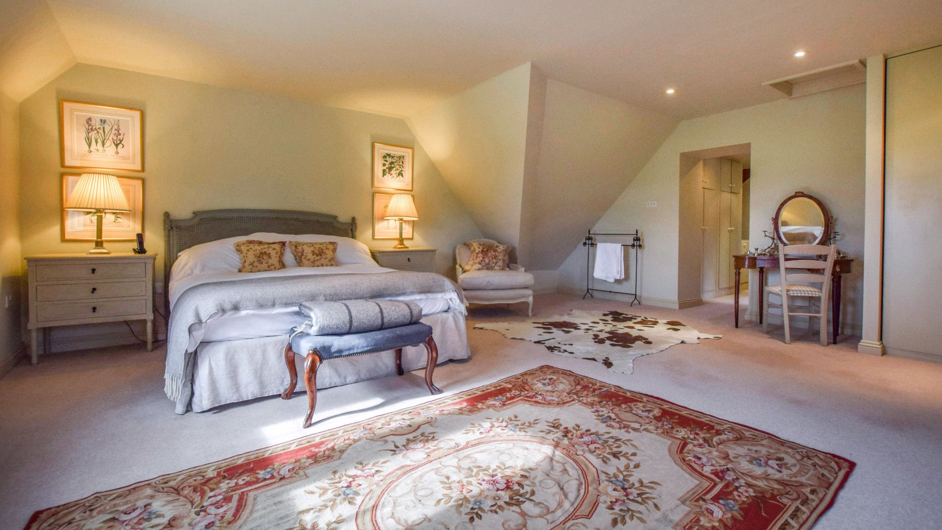 Bedroom One-Master, Grindstone Mill, Bolthole Retreats