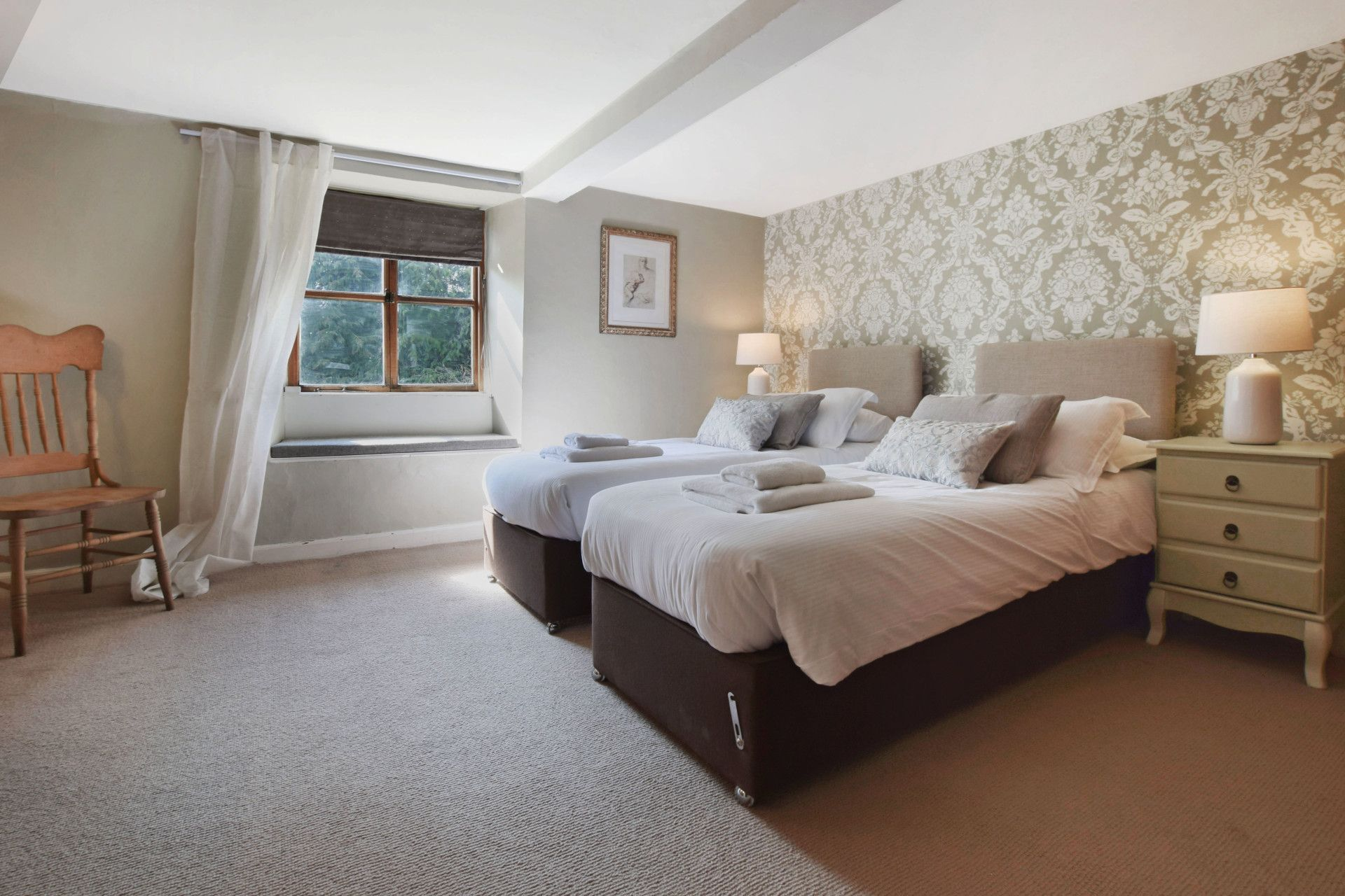 Bedroom Two, Old Post Office, Bolthole Retreats